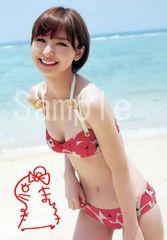【送料無料】 AKB篠田麻里子 写真5枚セット<サイン入>04