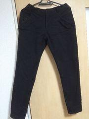 VIMINE メンズ ブラックパンツ ボトムス XL