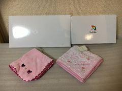 100スタ★新品未使用:タグ有★レノマ他:タオルハンカチ6点セット