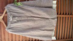 SM2*リネンスカート 重ね着風 タグなし新品