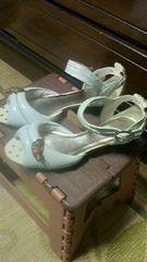 《未使用》ERICA☆木の実が可愛いサンダル靴☆LLサイズ