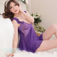 1スタ●艶やか ランジェリー●ベビードール●1002紫