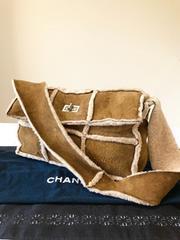 1円 ◆正規品◆ 極美品 シャネル ムートン ショルダー バッグ