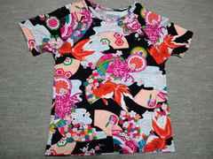 ピンクハウス姉妹パウダー着物柄Tシャツ和柄アロハふりふ好き