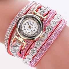 新品未使用姫系高級ラインストーンチェーンベルト腕時計
