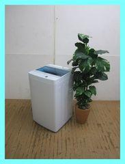 ハイアール4,5kコンパクト洗濯機(ステンレス槽)JW-C45A-Wホワイト2018年製