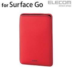 ★ELECOM Surface Goネオプレンポーチ スリップインポーチ RED