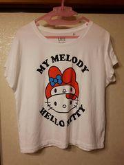 ユニクロ キティ マイメロ コラボTシャツ