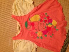ブランシェス Tシャツ キッズ ベビー かわいい 90 リボン