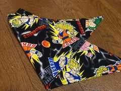 ドラゴンボール ブラック 三角巾 ハンドメイド