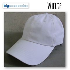 BX001 Big Accessories Classic BrushedCap カーブキャップ
