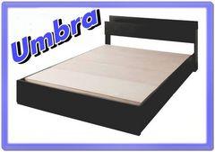 シングルベッド/棚・コンセント・収納★Umbra/フレーム