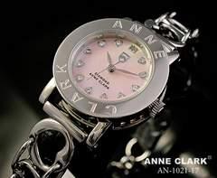 アンクラークララブハートブレス腕時計AN-1021-17ピンク