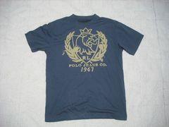 31 男 ラルフローレン 紺 半袖Tシャツ M