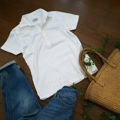 〇ユナイテッドアローズ〇Tシャツ生地のポロシャツ*・゜