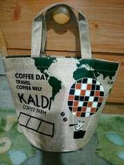 KALDI カルディーコーヒー*2017年コーヒーの日*ミニトートバッグ