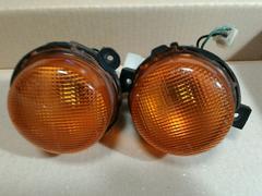 【中古】ジムニー ja12 ja22 フロントウインカー 橙