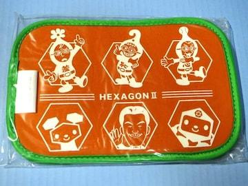 ●新品●DS クイズ!ヘキサゴン�U 特製マルチポーチ★