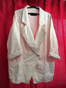 ジーナシス☆ツイルシャツジャケット7S☆