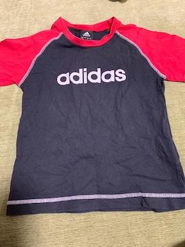 美品 アディダスTシャツ 120