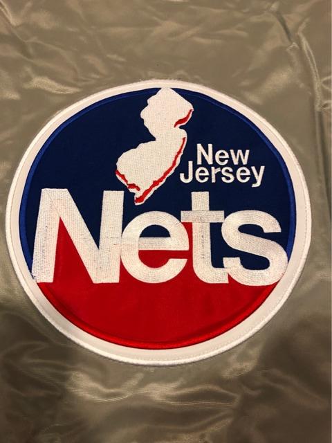 NBA  NETS   スタジャン  大きいsizeXXL   Majestic HARDWOOD < 男性ファッションの