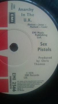 セックス・ピストルズ アナーキー・イン・ザ・UK シングルレコード