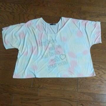 Heather 大きなTシャツ 可愛い