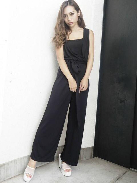☆リゼクシーカシュクールVネックコンビネゾン☆新品タグ付きF  < 女性ファッションの