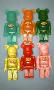 ☆BE@RBRICK☆Jelly Belly☆全6種セット☆ジェリーベリー☆ベアブリック☆