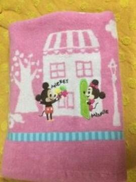 DisneyディズニーバスタオルミッキーミニーP