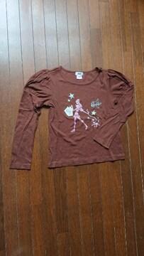 Barbieの長袖Tシャツ  サイズ2(160)