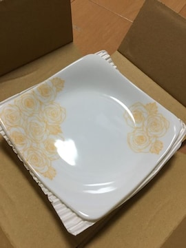 新品  美濃焼  小皿  二枚セット  箱付き