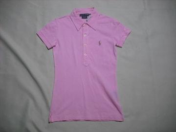 wr258 女 RALPH LAUREN ラルフローレン 半袖ポロシャツ XSサイズ