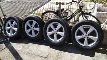 日産デュアリス純正アルミホイールラジアルタイヤ225/60r17インチデューラーT3031エクストレイル