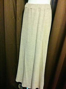 ロングスカート(ライトグレー)