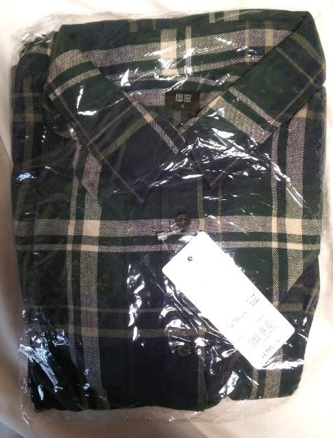 XL★UNIQLO★ユニクロ★フランネルチェックシャツ★大きいサイズ < ブランドの