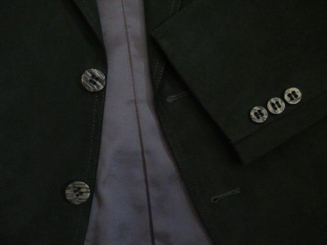 有名ブランド&超美品&国産★ドルマン/DOLMAN★合繊/深緑/AB6 C98 < 男性ファッションの