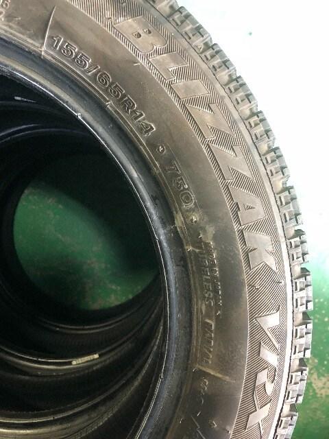 0101244)激安BSブリヂストンブリザック国産スタッドレスタイヤ155/65R14送料無料 < 自動車/バイク