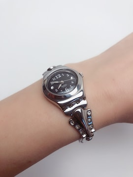 T192★極美品 swatch スウォッチ 腕時計 レディース時計 IRONY