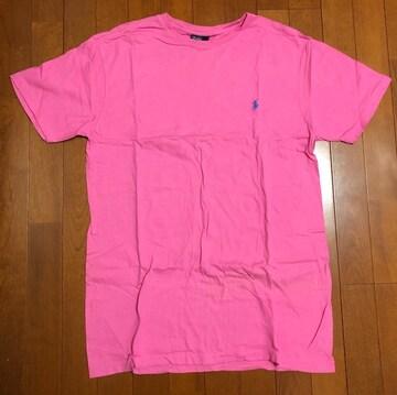 Ralph Laurenラルフローレン☆ピンクワンポイントTシャツ