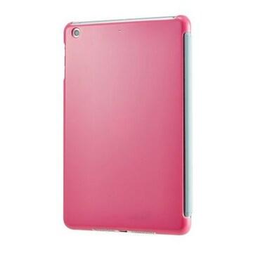 人気急上昇!iPad用 スマートバックカバー ピンク