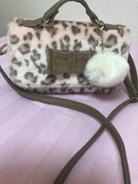 セシル バンビ柄バッグ