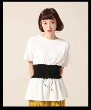 ☆LOWRYSFARM コルセットTシャツ☆