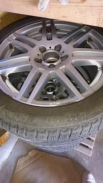 PCD112  タイヤホイール付き ベンツ VW アウディ スタッドレス