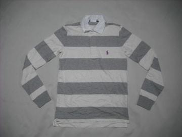 ow171 女 RALPH LAUREN ラルフローレン ラガーシャツ XSサイズ