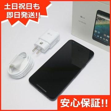 ●安心保証●新品同様●Y!mobile Nexus 5X 32GB カーボン●