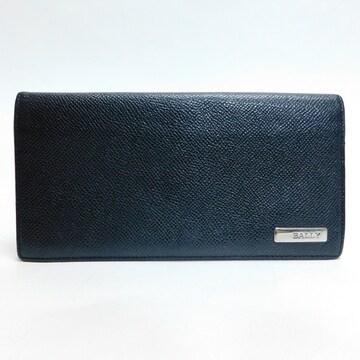 BALLYバリー 二つ折り長財布 レザー 黒 良品 正規品