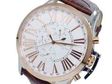 サルバトーレマーラ 腕時計 SM14123-PGWH