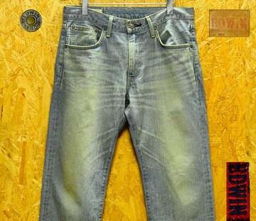W31 (90cm)エドウィン503レギュラーストレート・股下73cm