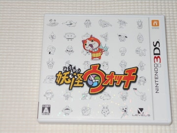 3DS★妖怪ウォッチ 電子説明書★箱付・ソフト付